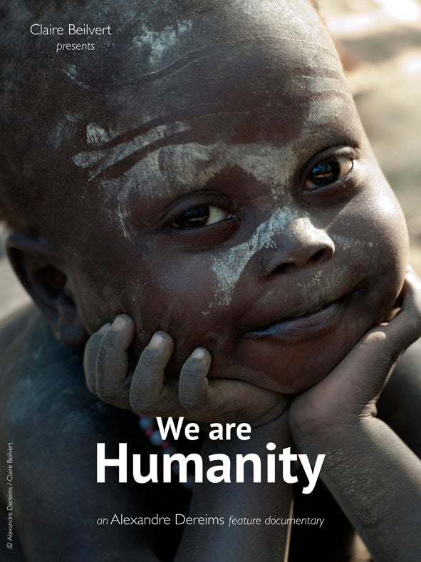 Affiche we are humanity 10x13 150