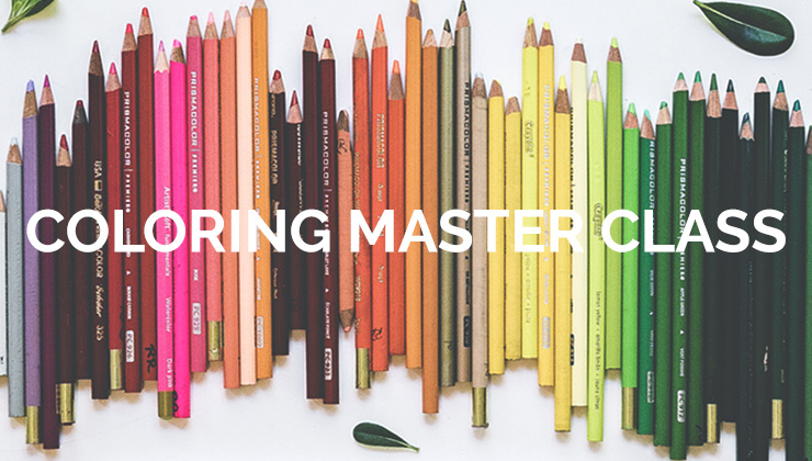 Coloring master class photo