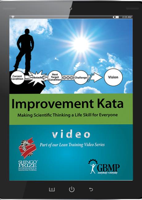 Gbmp lean manufacturing healthcare videos catalog improvement kata making scientific thinking a sciox Choice Image